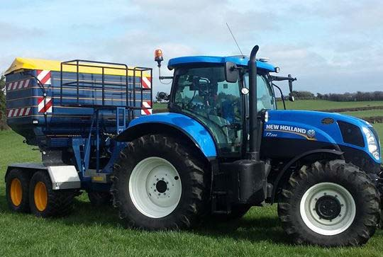 Tullamore Agri Supplies tractor