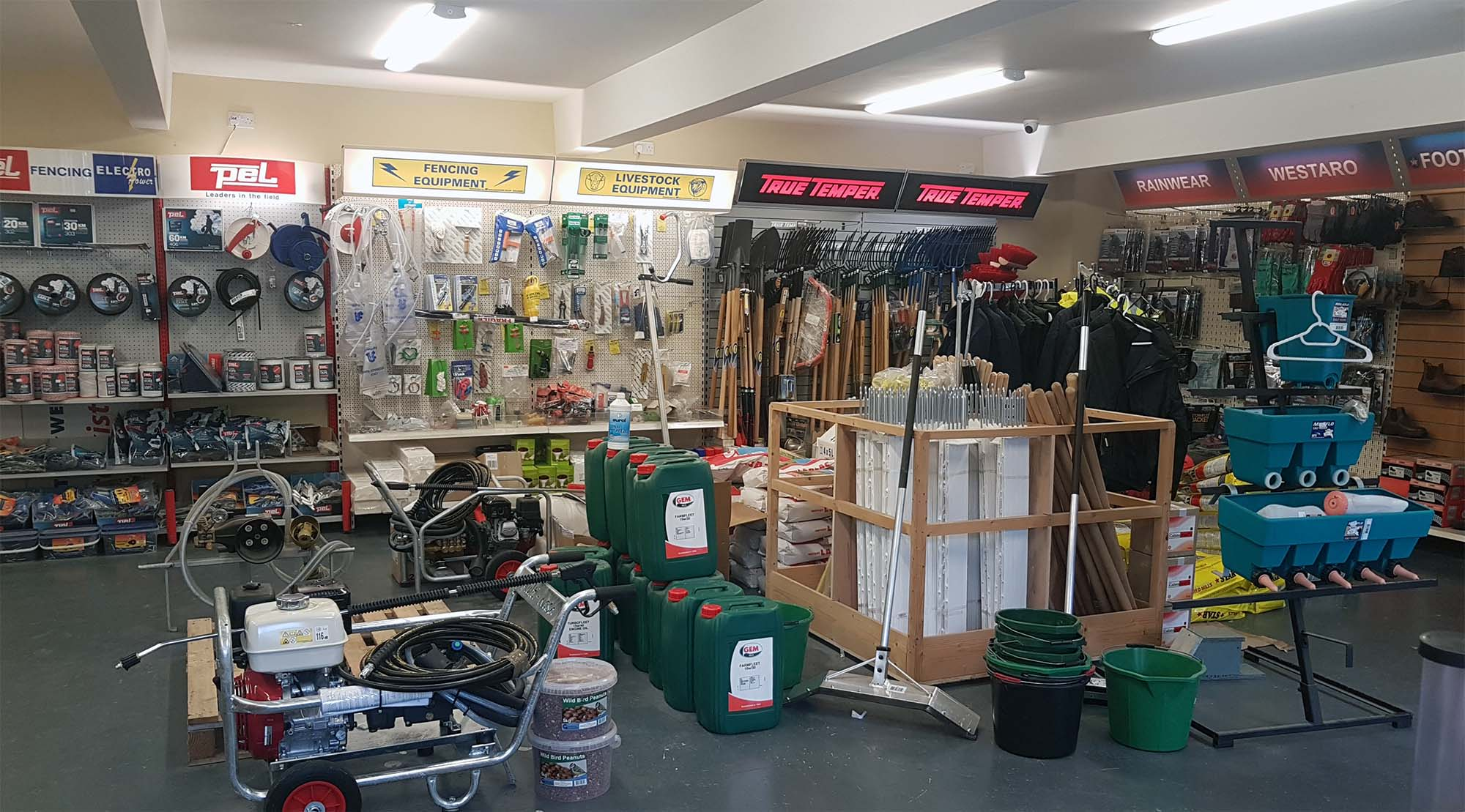 Tullamore Agri Supplies shop in Tullamore, Co. Offaly